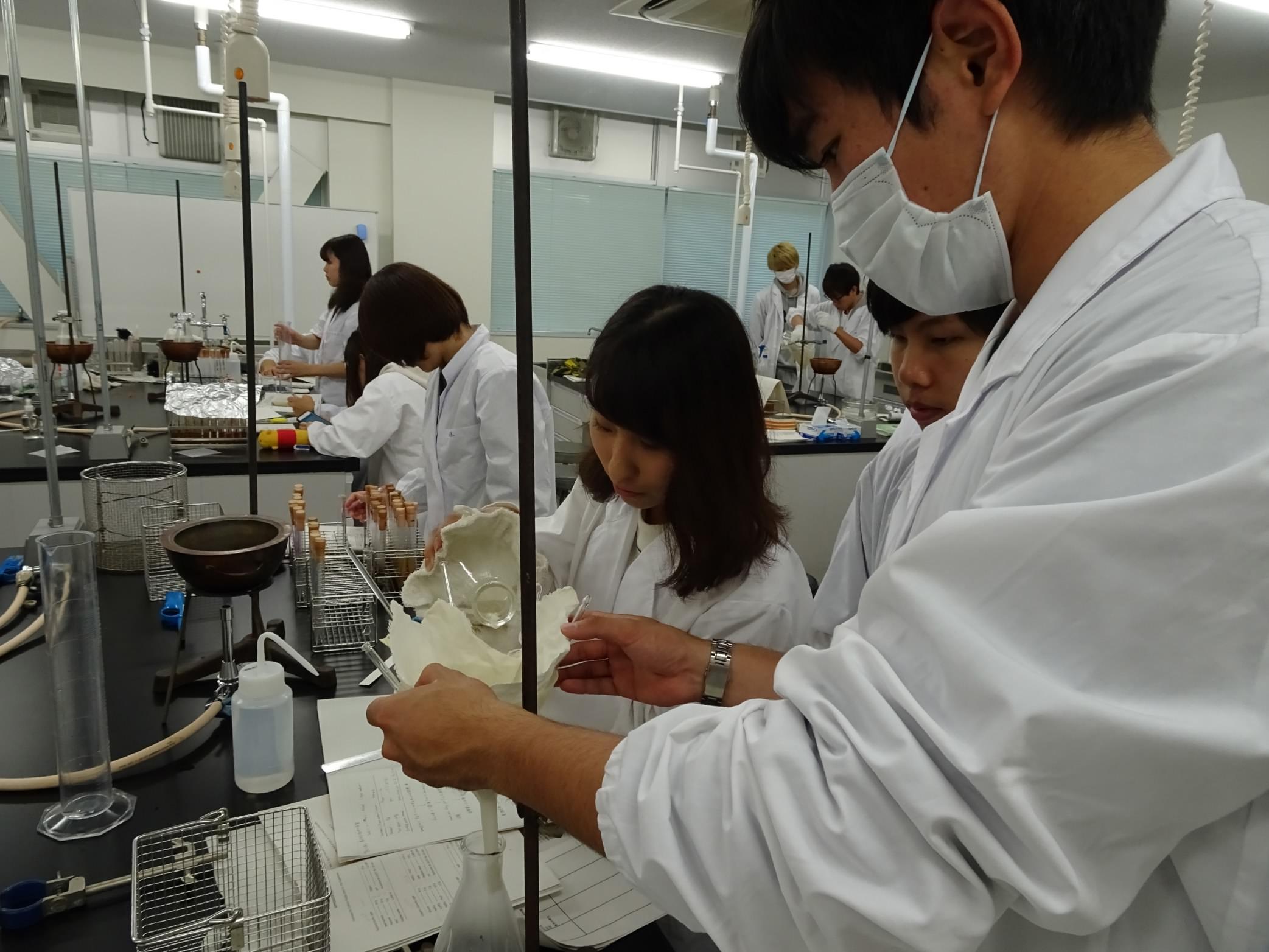 3年生:生物工学実験III(応用微...